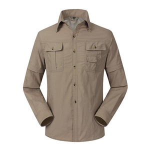Mountainskin Quick Dry Canyoneering Men's Shirts - Breathable