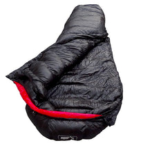Load image into Gallery viewer, Goose Down Mummy Sleeping Bag for Ultralight Overnight Canyoneering