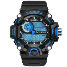 Load image into Gallery viewer, SMAEL 1385 S-Shock Sport Watch - Electronic Led Sport Wristwatch