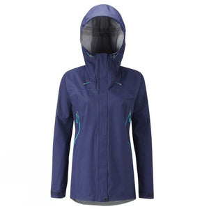 Women Waterproof Lightweight Jacket with Hood