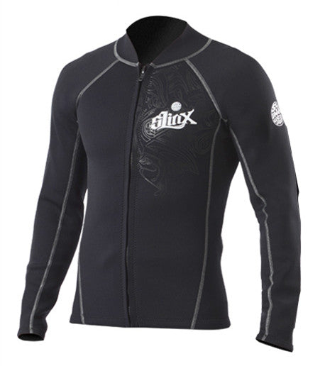 2mm Neoprene Canyoneering Wetsuit Jacket, Anti-ultraviolet