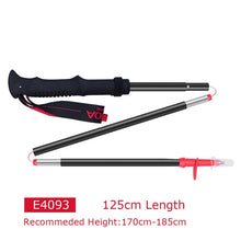 Load image into Gallery viewer, 2pcs AONIJIE Tri-fold Ultralight Quick Lock Trekking Poles