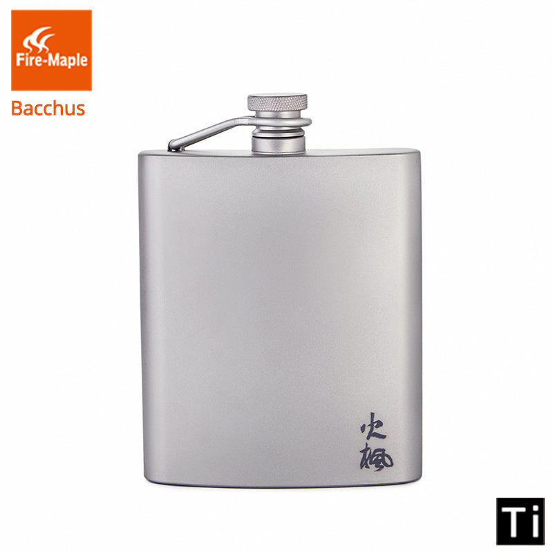 Fire Maple Titanium Ultralight Hip Flask 200ml 88g