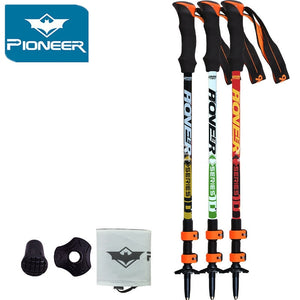 Pioneer Ultra-light Adjustable Trekking Pole - 1pc