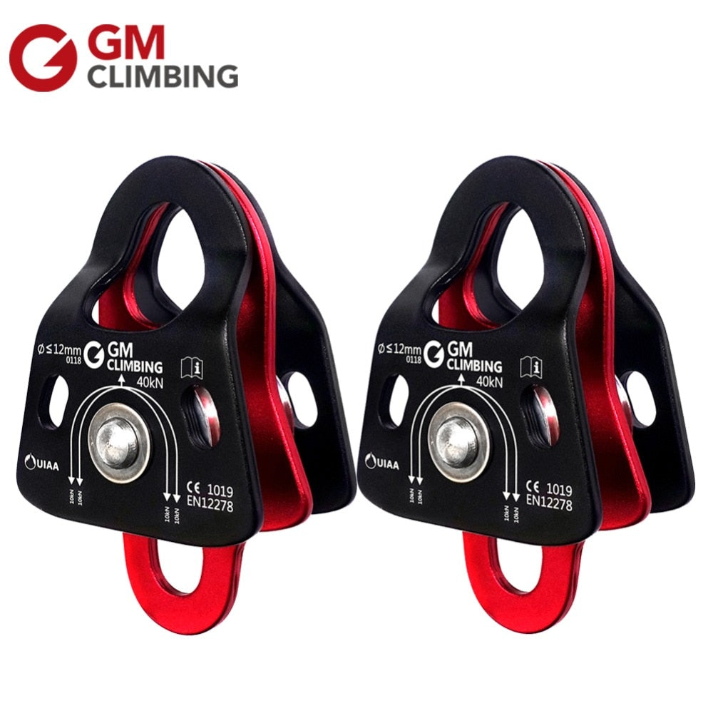 GM Canyoneering Double Rope Pulley CE / UIAA 40kN