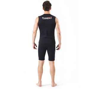 Neoprene 3mm Men's Canyoneering Wetsuit Vest