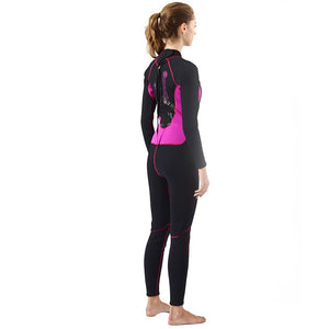 3mm Neoprene Canyoneering Wetsuit for Women