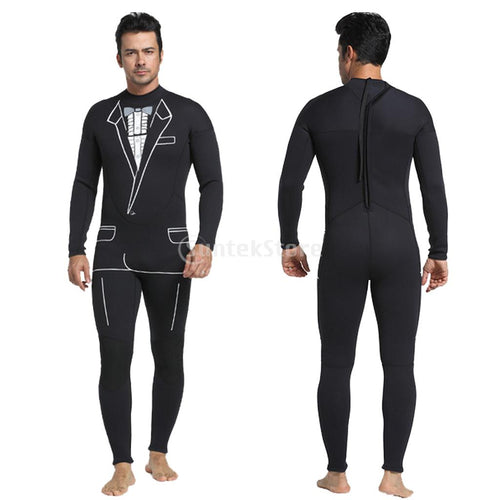 Mens Tuxedo Wetsuit - Formal Style - 3mm (Exclusive Bryan Hamlin Apparel)