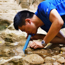 Load image into Gallery viewer, Portable Canyoneering Suction Straw - Water Purifier
