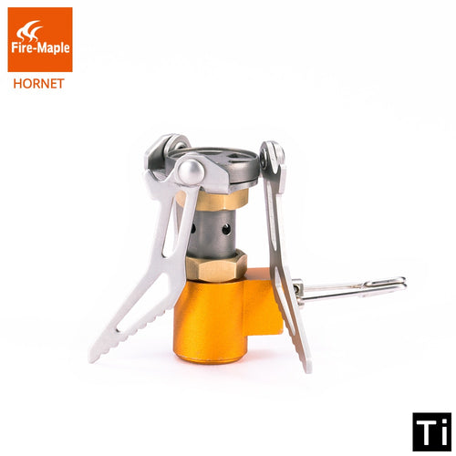 Fire Maple FMS-300T Burner - Ultralight 45g 2600W Micro Mini Titanium Gas Stove