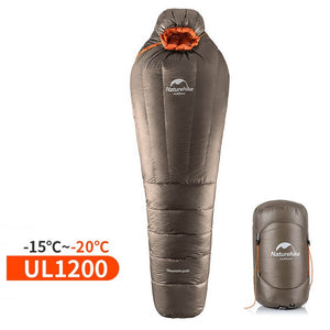 NatureHike Mummy Sleeping Bag Ultralight  -20~-10 Degree Rating