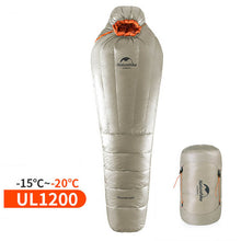 Load image into Gallery viewer, NatureHike Mummy Sleeping Bag Ultralight  -20~-10 Degree Rating