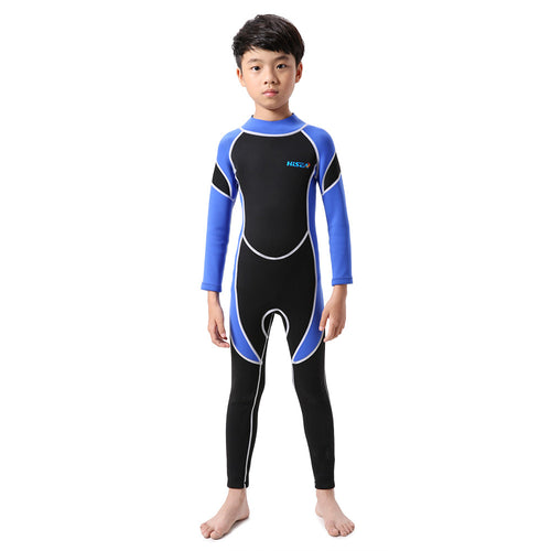 Kids Neoprene Wetsuit For Canyoneering - Back Zipper