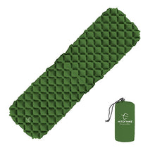 Load image into Gallery viewer, Outdoor Inflatable Utralight Canyoneering Sleeping Pad With Pillow