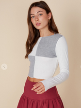 You're Color Blocked Top