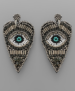 Eye See Everything Earrings