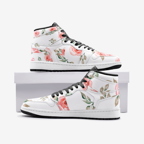 Floral High Top Sneaker TR