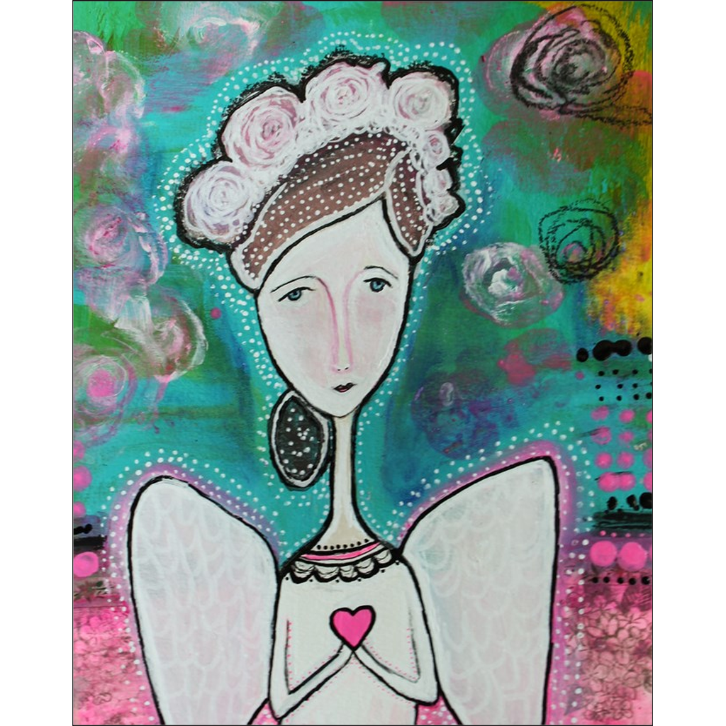 Sailor Angel Love Giclee Art Print