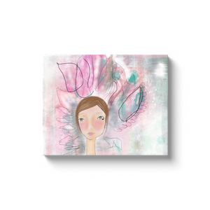 Peaceful Warrior 1 Canvas Wrap