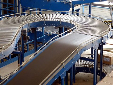 Conveyors Curved Roller