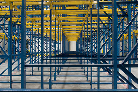 Pallet Flow Drive in Racks