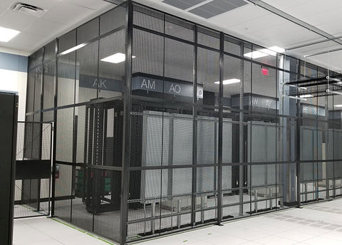 Wire Partitions Server Cage