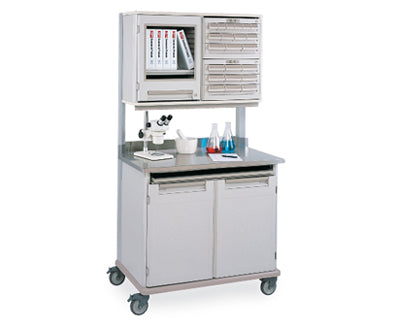 Wire Shelving Lab Cart