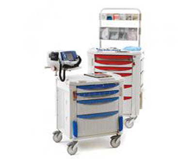 Wire Shelving Medical Cart