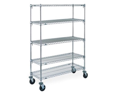 Wire Shelving Mobile 5