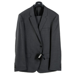 Hugo Boss Mens Suit Dark Grey Huge Genius