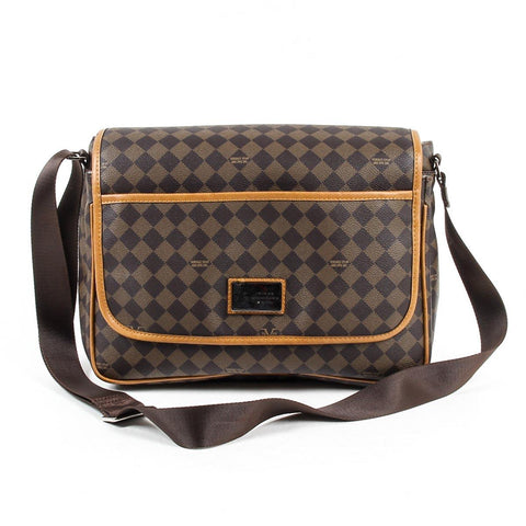 e8067bcfb93 Versace 1969 Italia Mens Bag V1969014 Coffee Taba