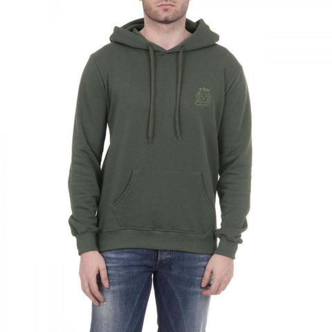Versace 1969 Italia Mens Hoodie Art. 4467 Military Green