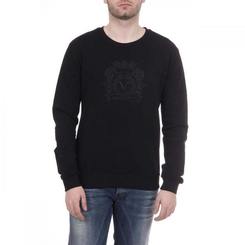 Versace 1969 Italia Mens Sweater Art. 4469 Black