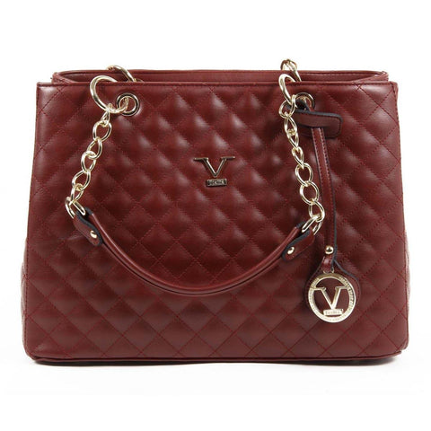 Versace 1969 Italia Womens Handbag Ve03 Claret Red
