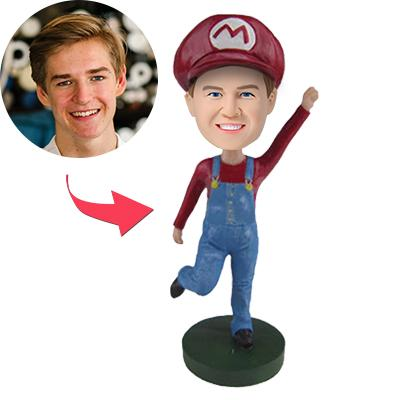 Super Mario Mario Popular Custom Bobblehead
