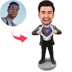Superman Strip - C Popular Custom Bobblehead With Engraved Text