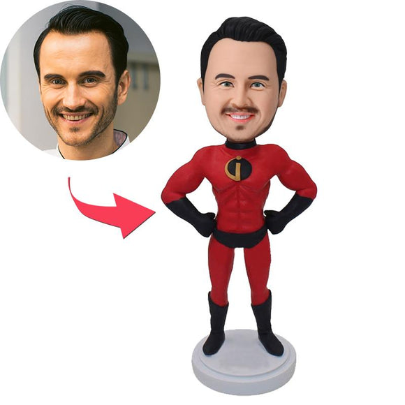 Incredibles Popular Custom Bobblehead With Engraved Text