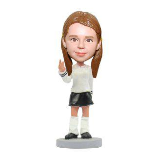 Lovely Baby Custom Bobblehead With Engraved Text
