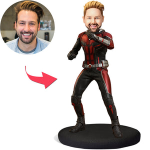 Ant-Man Popular Custom Bobblehead With Engraved Text