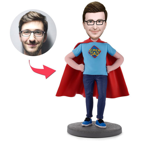 Super Dad Custom Bobbleheads
