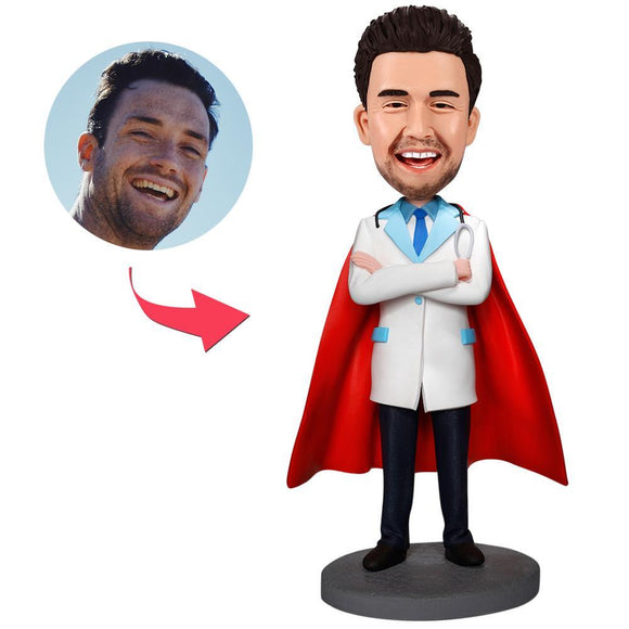 Cool Super Doctor Custom Bobblehead