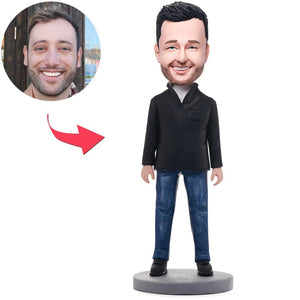 Fashion Casual Man Custom Bobblehead