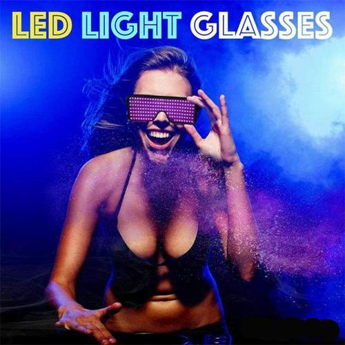 LED PARTY LUMINOUS GLASSES(TWO PAIRS)