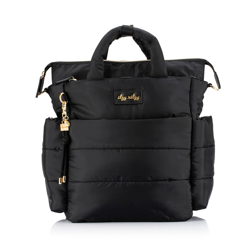 NEW Dream Convertible™ Midnight Black Diaper Bag