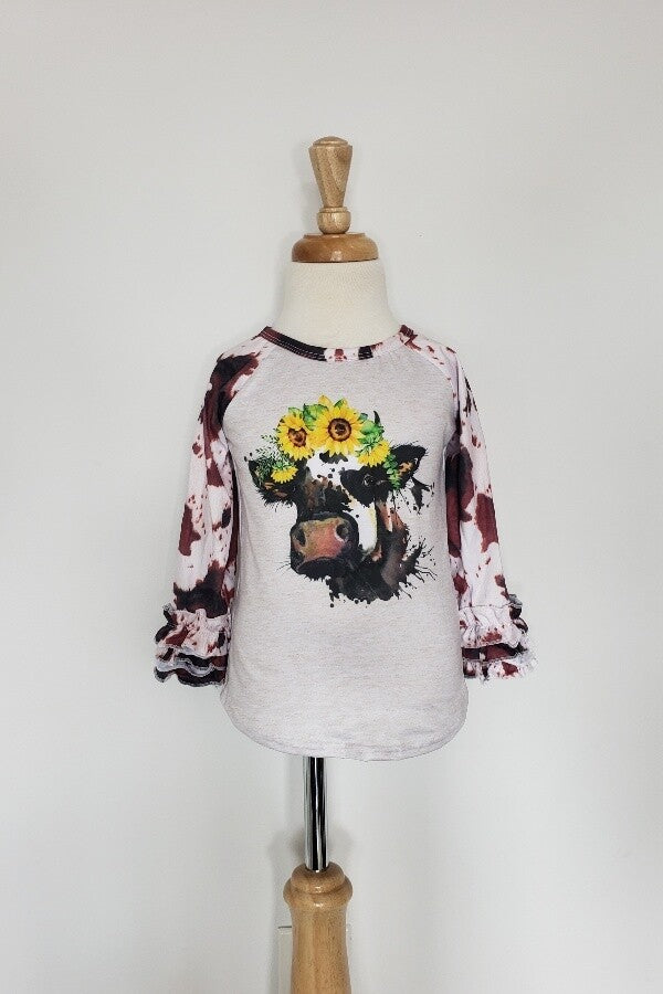 Cow Sunflower Shirt