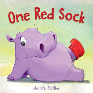 One Red Sock Children's Picture Book
