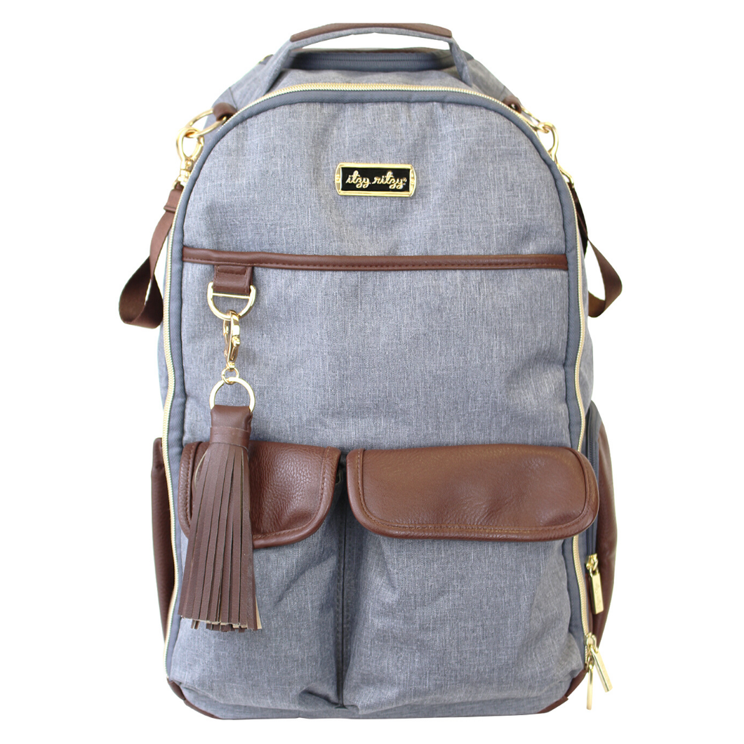 Handsome Heather Gray Boss Backpack™