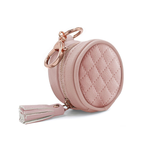 Blush Diaper Bag Charm Pod Keychain