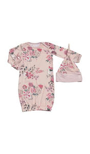 Wild Flower Gown 2-Piece 0-3M