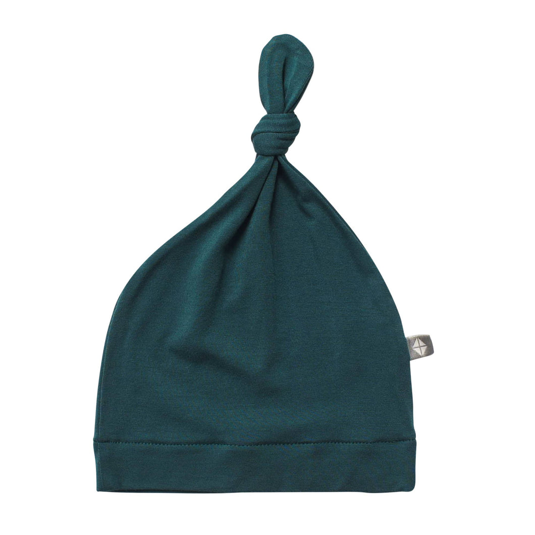 Kyte BABY - Knotted Cap in Emerald (Em)